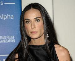 Demi Moore attends the Cinema for Peace fundraiser for Haiti at Montage Beverly Hills in Beverly Hills, Calif. on January 14, 2012  -- Getty Premium