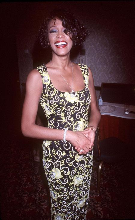 12/4/99 New York, NY. Whitney Houston at 'Whitney Houston's All-Star Holiday Gala.' Photo by Robin Platzer/Twin Images/Online USA, Inc.