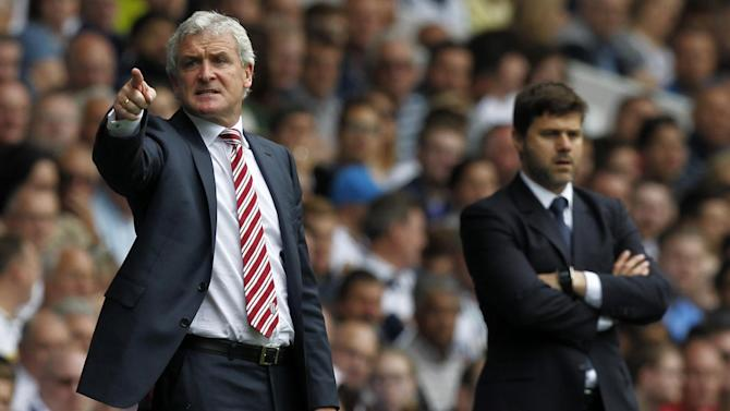 Tottenham must be more 'arrogant' to take the final step, says Stoke boss Mark Hughes