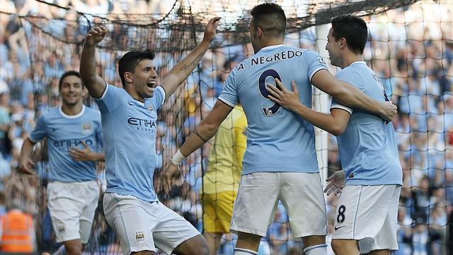 Premier League - Aguero: We are all heroes