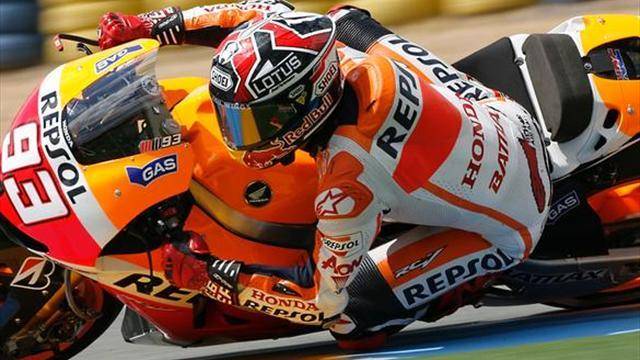Motorcycling - Marquez fastest in opening Mugello session