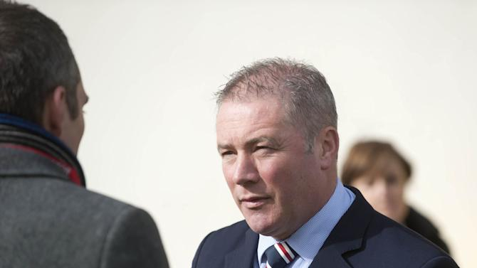 Ally McCoist, pictured, has been backed by Charles Green after Rangers' defeat to Stirling