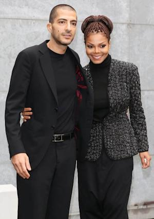 Wissam al Mana and Janet Jackson attend the Giorgio Armani fashion show during Milan Fashion Week Womenswear Fall/Winter 2013/14, Milan, Italy, on February 25, 2013 -- Getty Images
