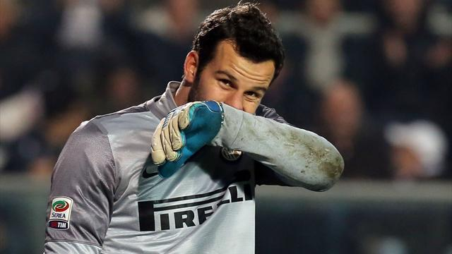 Serie A - Handanovic sees Inter advantage