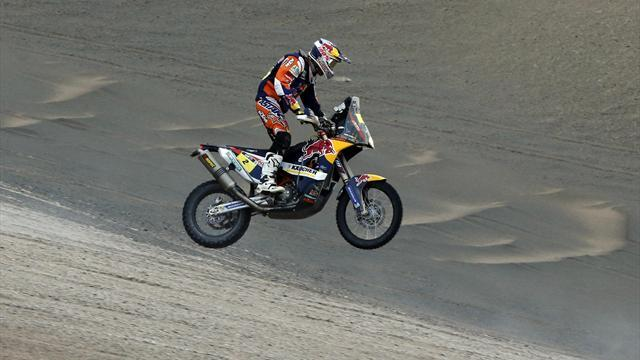 Dakar - Bikes: Coma takes stage 11, victory looms