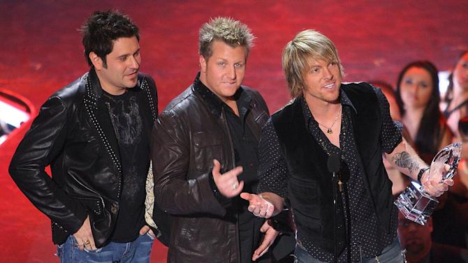 """Rascal Flatts wins Favorite Song from a Movie for """"Life is a Highway"""" at The 33rd Annual People's Choice Awards."""