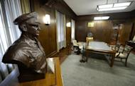 The Tokyo office used by US General Douglas MacArthur, commander of the Allied forces in occupied Japan. Now, more than 60 years after Japan began governing itself again, his office is being opened to the public, just as he left it