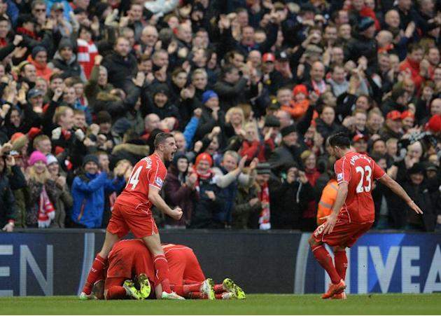 Liverpool's victory puts a serious dent in Manchester City's hopes to challenge Chelsea at the top of the Premier Leage