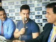 Aamir Khan turns commentator for Sachin Tendulkar's last match