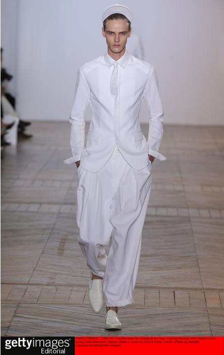 Juun J - Mens Spring Summer 2013 Runway - Paris Menswear Fashion Week