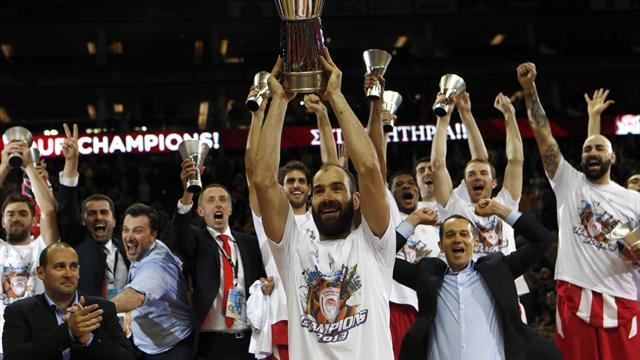 "Basketball - Spanoulis drives Olympiakos's ""miracle"" victory"