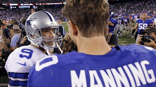 Visiting Cowboys cut down Giants in NFL season opener