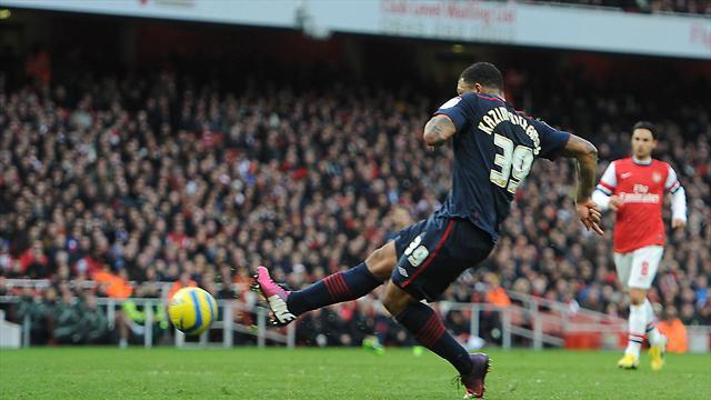 Football - Rovers send Arsenal packing
