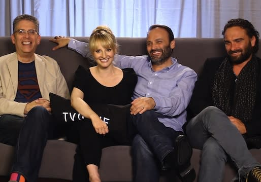 Big Bang Cast, Producers Talk Season 7 Time Jump, Raj Fallout, Howard/Bernadette Baby — Plus: Kaley's Marriage-Saving Smooch Exposed!