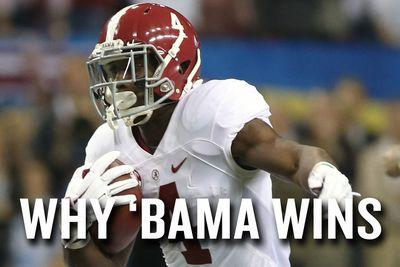 Why Alabama can win the College Football Playoff