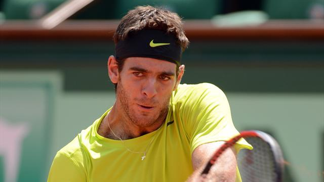 Del Potro to play Davis Cup semi despite injury