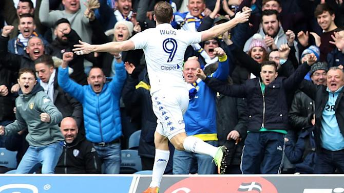 Chris Wood strikes to give Leeds derby victory over Sheffield Wednesday