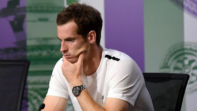 Wimbledon - Was 'off-court' issue behind Murray's defeat?