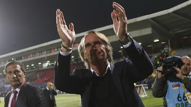 Jan Olde Riekerink has been sacked by Galatasaray, with Igor Tudor expected to leave Karabukspor to take charge of the Istanbul club.
