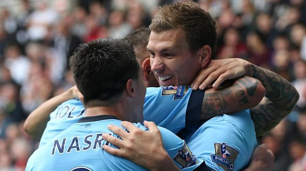 Premier League - Manchester City grind out win at Newcastle