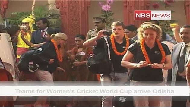 Teams for Women's Cricket World Cup arrive Odisha
