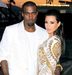 "Kanye West Is ""Not Changing Diapers"" for Baby North"