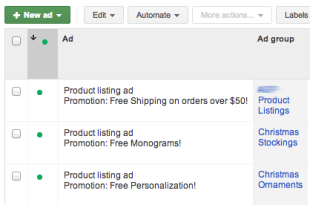 Adwords Product Listings: Tips on Maximizing Google Shopping ROI image google shopping ad promotion