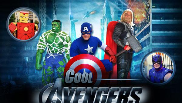 Cool Avengers Cosplay