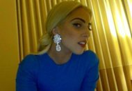 Yesterday, Lady Gaga popped up on her Facebook page to share a snap of her