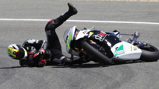 Motorcycling - Moto2 rider Rivas handed two-race ban