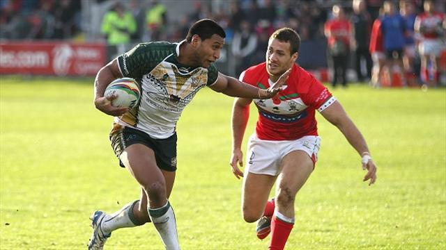 Rugby League - Wales lose despite fightback