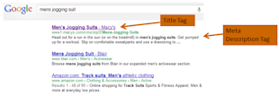 How To Begin Your Keyword Research image mens jogging suit google serps1