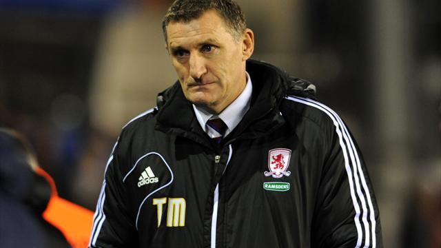 Football - Mowbray relieved to escape with points