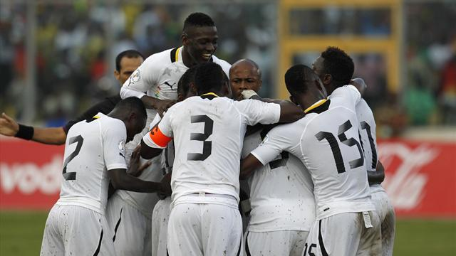 World Cup - Ghana lose to Egypt but still qualify for Brazil