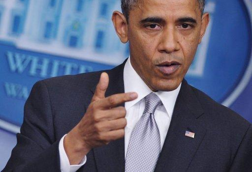 "US President Barack Obama said he and Republicans had narrowed differences over how to avoid the ""fiscal cliff"" to ""a few hundred million dollars,"" and urged his adversaries to compromise on a year-end deal."