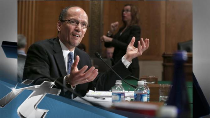 Politics Breaking News: Senate Approves Perez as New Labor Secretary