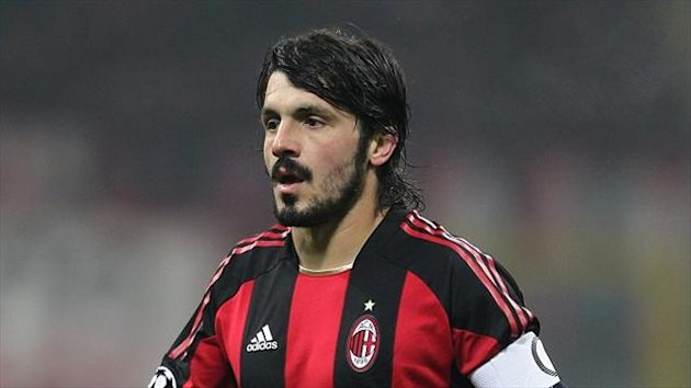 Gennaro Gattuso left AC Milan in 2012 after 13 years at the club