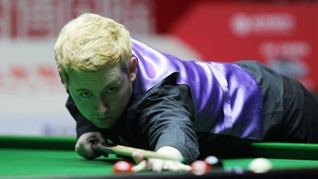 Snooker - Woollaston comeback stuns Williams in Galway