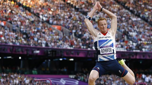 Athletics - Olympic hero Rutherford rues contrasting fortunes