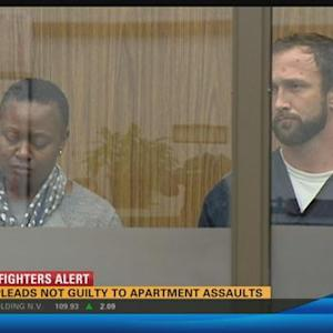 Man pleads not guilty to apartment assaults