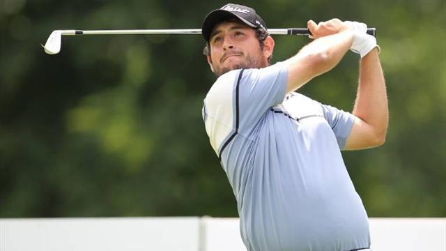 Golf - Levy holds nerve with closing birdies to win China Open