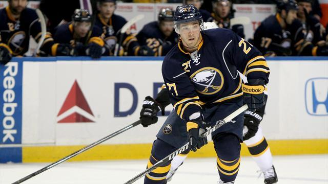 Ice Hockey - D'Agostini swoops late to give Sabres win over Bruins