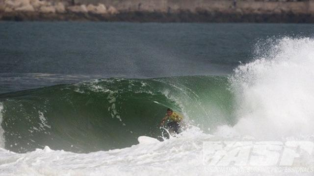 Surfing: Wilson takes maiden victory in Portugal