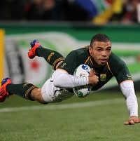 Bryan Habana was in great form as South Africa defeated Australia