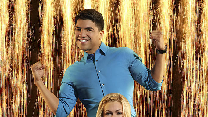 """Dancing with the Stars"" Season 16 VICTOR ORTIZ, LINDSAY ARNOLD"
