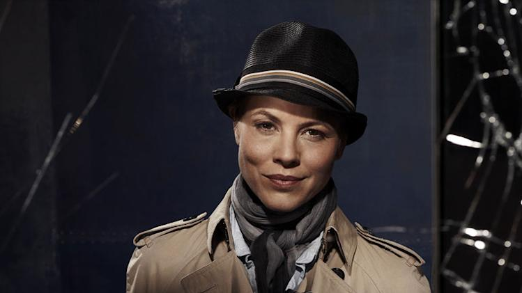"Maria Bello stars as Det. Jane Timoney in ""Prime Suspect."""