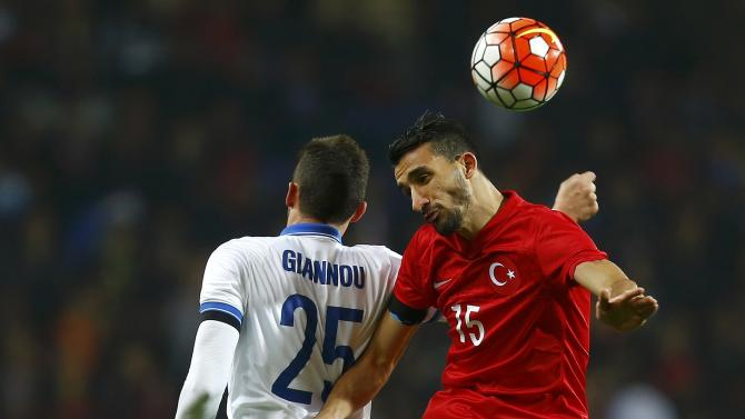 Football Soccer - Friendly - Turkey vs Greece