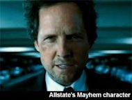 Allstate Mayhem character