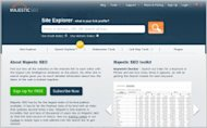 30 Of The Best Tools For Enterprise SEO image majesticseo 300x186