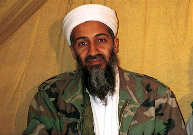 This undated file photo shows al Qaida leader Osama bin Laden in Afghanistan. Your average book-writing academic might be delighted to have a celebrity reader. Barry Cooper's case is a little diff
